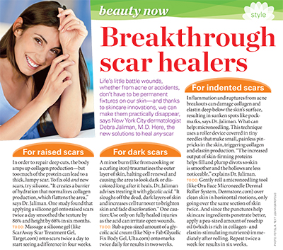 Breakthrough Scar Healers