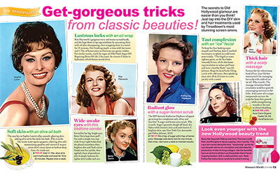 Get-gorgeous tricks from classic beauties!
