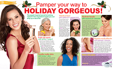 Pamper your way to HOLIDAY GORGEOUS!